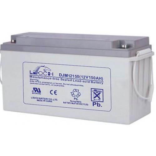 Аккумулятор AGM - 150 Ач, 12В гелевый Leoch DJM (LPL) 12150