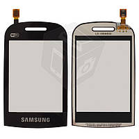 Touchscreen (сенсорный экран) для Samsung B3410 Wi-Fi версия, оригинальный (черный)