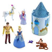 Игровой набор мини замок Золушки Cinderella Mini Castle Play Set Disney