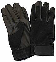 Перчатки мужские для конного спорта, черные