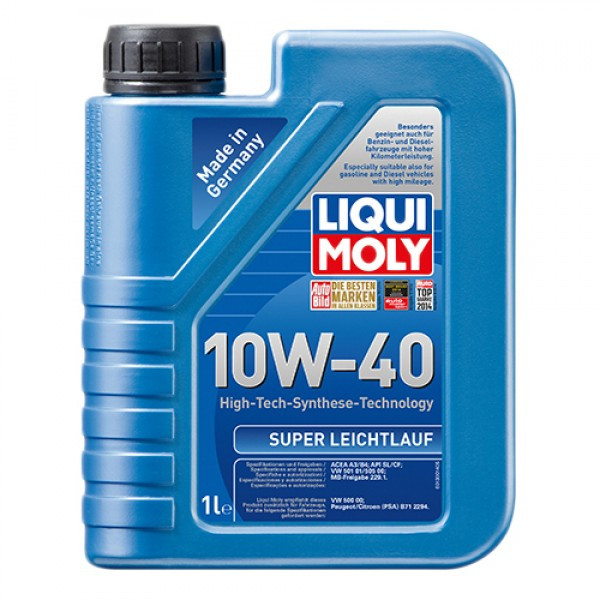 Напівсинтетичне моторне масло - Super Leichtlauf SAE 10W-40 1 л.