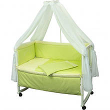 Набір в дитячу ліжечко Люкс з вишивкою