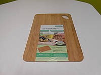Доска бамбуковая разделочная 35*24*0,8 см, фото 1