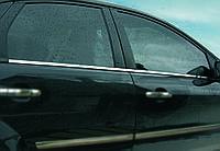 Нижняя окантовка стекол Ford Focus 2 (4 шт.)