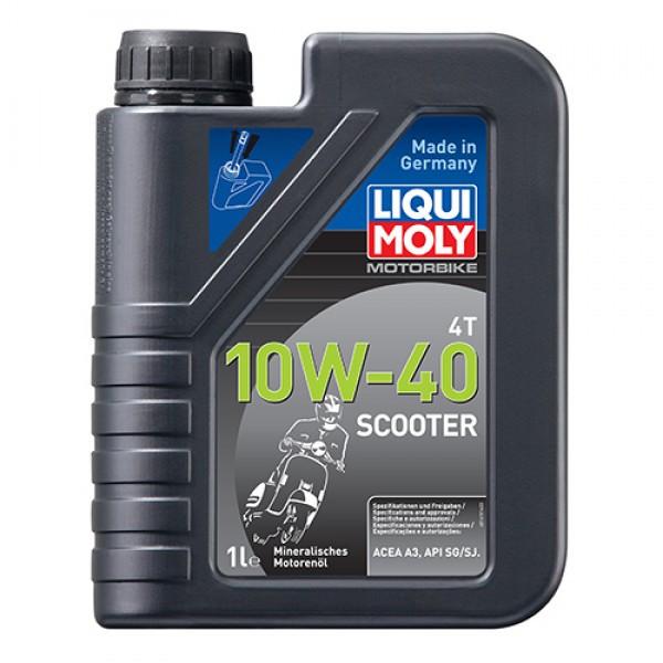 Масло для 4-тактных двигателей - Motorbike 4T 10W-40 Scooter 1 л.