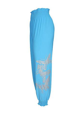 Женские брюки шаровары Бабочки