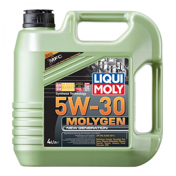 Синтетическое моторное масло - Molygen New Generation 5W-30   4 л.