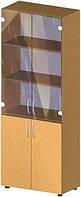 Шкаф со стеклом БЮ 418 (1825*347*700)