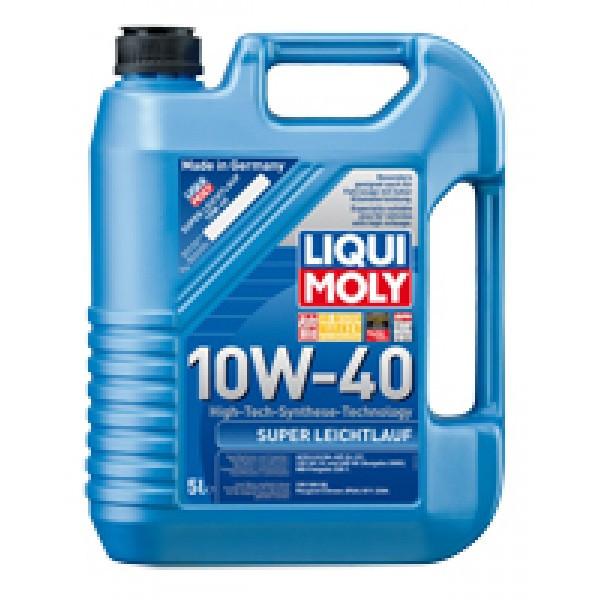 Полусинтетическое моторное масло - Super Leichtlauf SAE 10W-40   5 л.