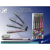 Набір гелевих ручок 6 кольорів Easy gel 888-6