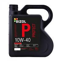 Полусинтетическое моторное масло -  BIZOL Protect 10w-40 4л