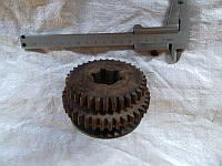 Блок шестерня вал 2-ой оси 16К20, фото 1