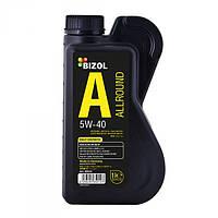 Синтетическое моторное масло BIZOL Allround 5W-40 1л