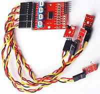 Датчики UV Датчик обхода препятствий [четырёхканальный] РадиоКит