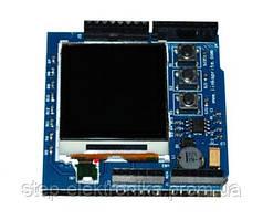 Датчики определения движения, дистанции Color Image LCD Shield for Arduino with buttons WZE