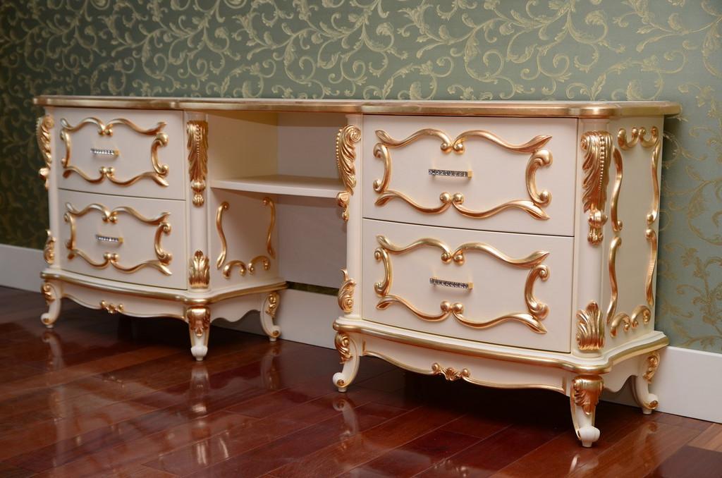 Мебель с резным декором  4