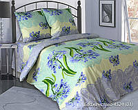 Постельное Белье полуторное Блаженство 100% хлопок Ткань Поплин ТМ (Блакит)