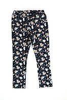 Леггинсы 15 джинс цветы 104