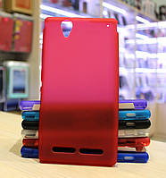 Чехол Original Silicone Case для Sony Xperia T2 Ultra Dual D5322 Red