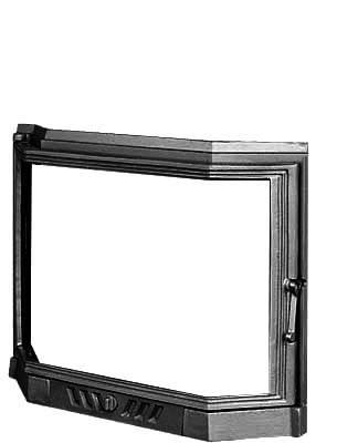 Дверцы для каминной топки KAWMET W5 560х690 см, фото 2