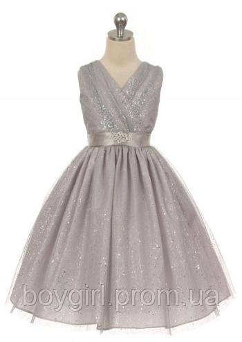 c16b6ca8289 Нарядное платье с блёстками на девочку 2-10 лет (много цветов) - Интернет