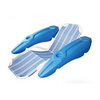 Кресло голубое плавающее