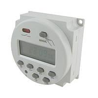 Программируемый недельный таймер, реле времени  220V-16A ES88