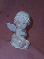 Ангел фарфоровая статуэтка-фигурка итальянской компании Pavone JP-36/ 7, 7.5 сантиметров высота
