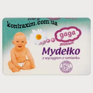 GAGA Премиум Мыло с экстрактом ромашки 100 г