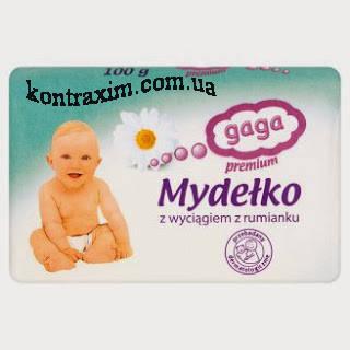 GAGA Премиум Мыло с экстрактом ромашки 100 г, фото 2
