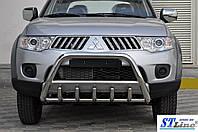 Mitsubishi Pajero Sport 2008-2013 Кенгурятник WT003