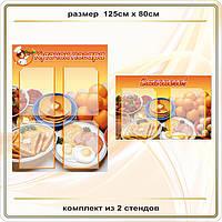Стенды для кухни, столовой код S61002