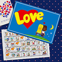 """Шоколадный набор большой """"LOVE""""."""