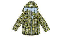 Демисезонная куртка для мальчика на флисе Baby Line,для мальчиков,зеленая,весн