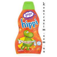 GAGA Премиум Hippi Шампунь и гель для ванны для детей старше 1 года мандарин 380 мл