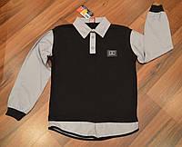 Рубашка на мальчика обманка