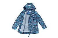 Демисезонная куртка для мальчика на флисе Baby Line,для мальчиков,голубая,весн