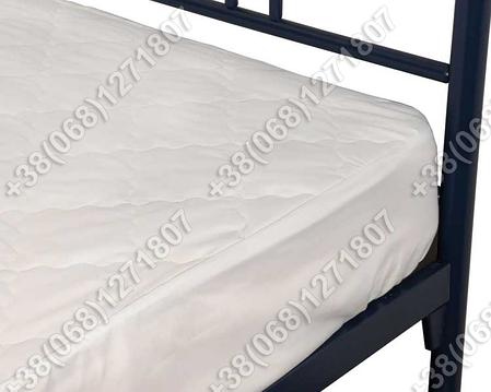 Наматрасник с бортом 90х200 микрофибра/силикон, фото 2