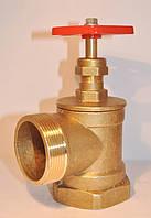 Пожарный Вентиль - Клапан запорный муфтовый DN50вн PN10 вугловий
