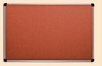 Доска для объявлений пробковая в алюм. раме