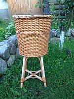 Плетеная корзина из лозы для багетов