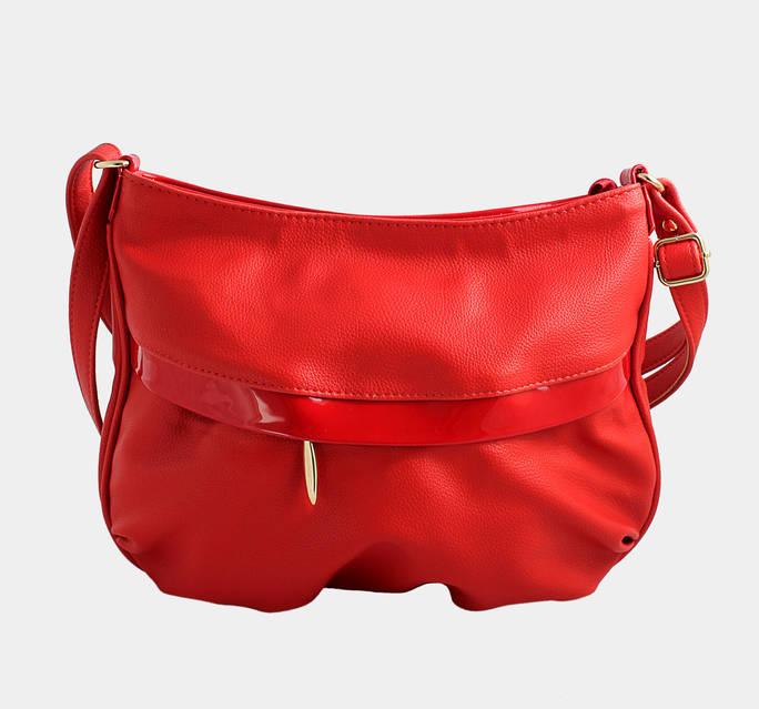 червона маленька сумка