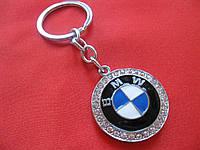 Гламурный брелок со стразами для авто леди BMW