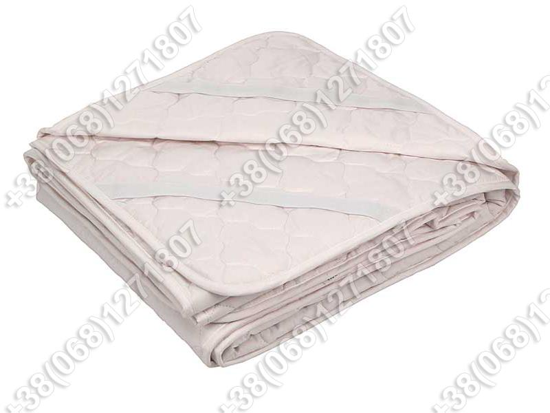 Наматрасник силикон/бязь 90х200 с резинками по углам