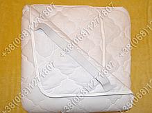 Наматрасник силикон/бязь 90х200 с резинками по углам, фото 2
