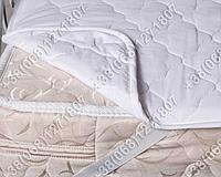 Наматрасник силикон/бязь 140х200 с резинками по углам