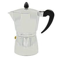 Кофеварка гейзерная  300мл (6 чашек) из алюминия