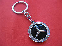 Гламурный брелок со стразами для авто леди Mercedes-Benz