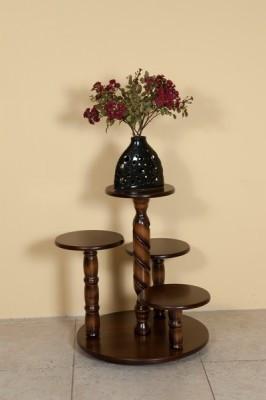 Деревянная подставка для цветов напольная Модуль Люкс