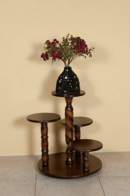 Деревянная подставка для цветов напольная Модуль Люкс, фото 2